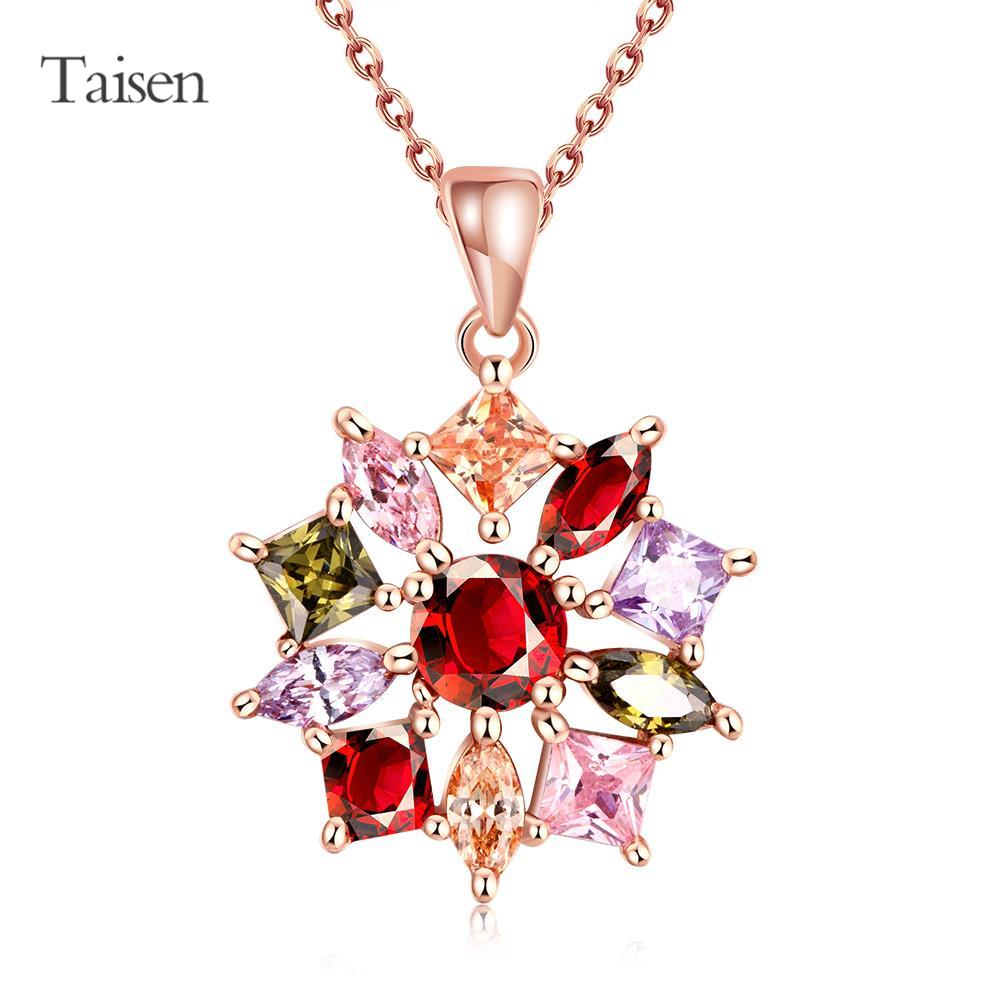 necklace pendant space rose gold necklace women's handbags matched flower necklace 2016 new chain with pendants for friends(China (Mainland))