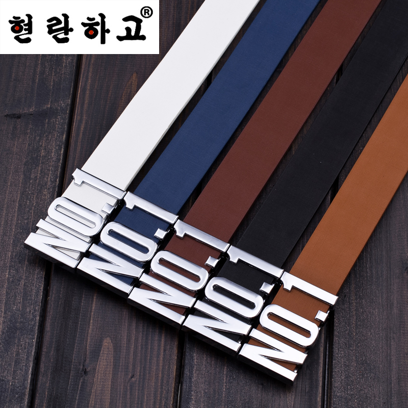 HOT!!! 2015 Fashion Men Belts Vintage Design Genuine Leather real Row Belt For Man Pin Buckle Brand Logo Casual Waist Strap L-31(China (Mainland))