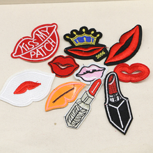 2016year New arrival mixed 20 pcs popular Embroidered patches iron on cartoon Motif DIY Applique embroidery accessory(China (Mainland))