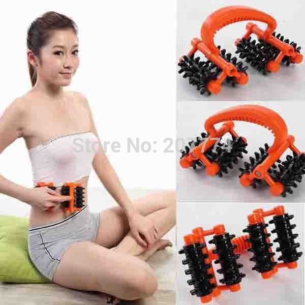 Handheld Body Mini Massager Make body neck shoulders back abdomen hands feet legs face slimming Health care beauty massage Free(China (Mainland))