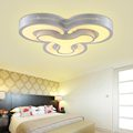 Dimming Led Ceiling Lamp Modern Living Room Bedroom Kitchen Light Fixtures White Iron Acrylic Lampshade Home