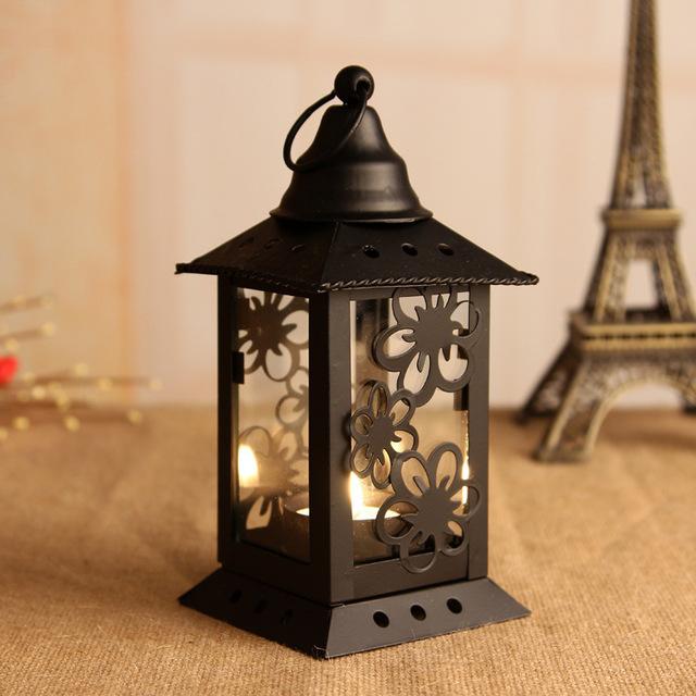 Aliexpress.com: comprar zakka hierro candelabro adornos decoración ...