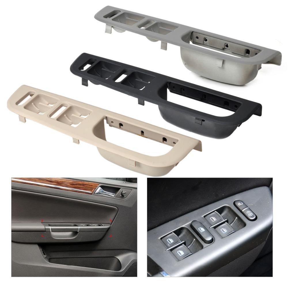 3b1867171e Car Door Window Switch Control Panel Bezel For Vw Volkswagen Passat B5 Jetta Bora