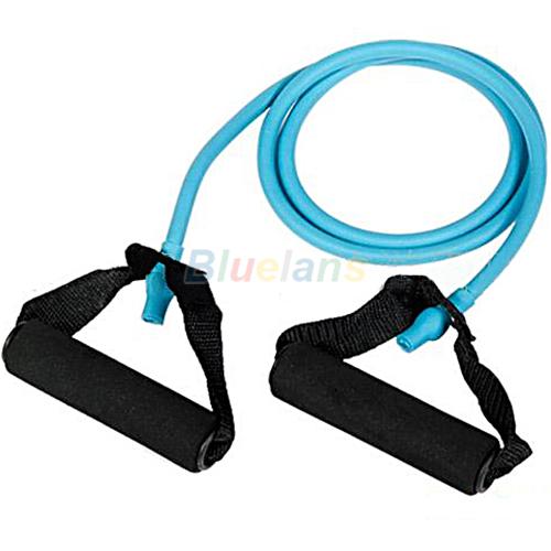 Гаджет  1PC New Resistance Bands Tube Workout Exercise for Yoga 1 Type Wholesale 01YB None Спорт и развлечения