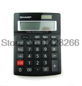 SHARP Sharp calculator CH-312 Business calculator small desktop office calculator Authentic(China (Mainland))