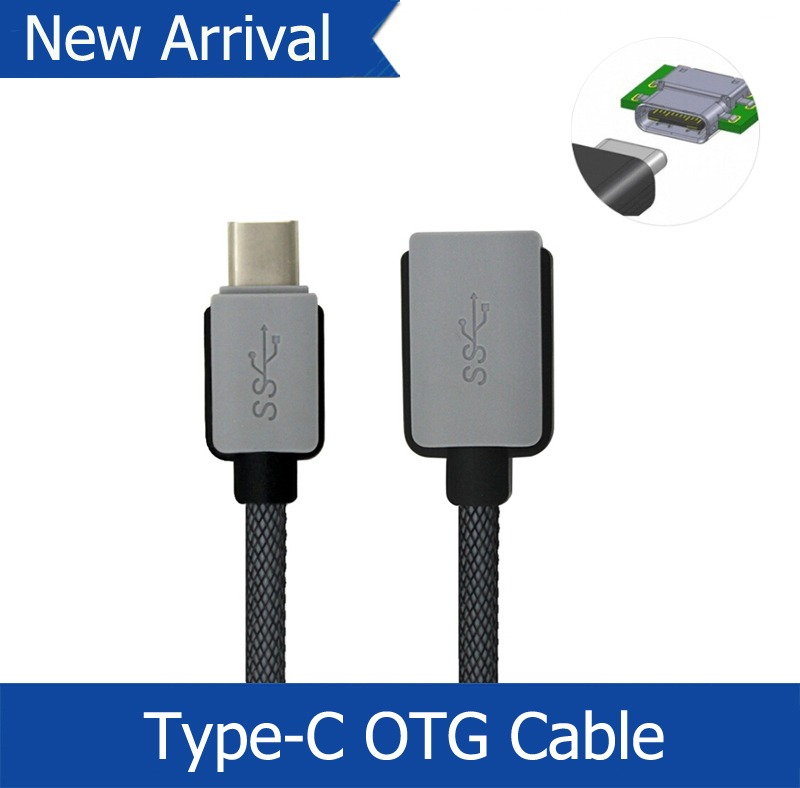 USB 3.1 Type C To Female OTG Cable USB 3.1 Type-C OTG Adapter For New Macbook For ChromeBook Mi4C MX5 Pro Free Shipping(China (Mainland))