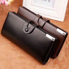 hot sales men wallet brand famous England style long card holders good high quality male clutch leather handbag vintage wallets