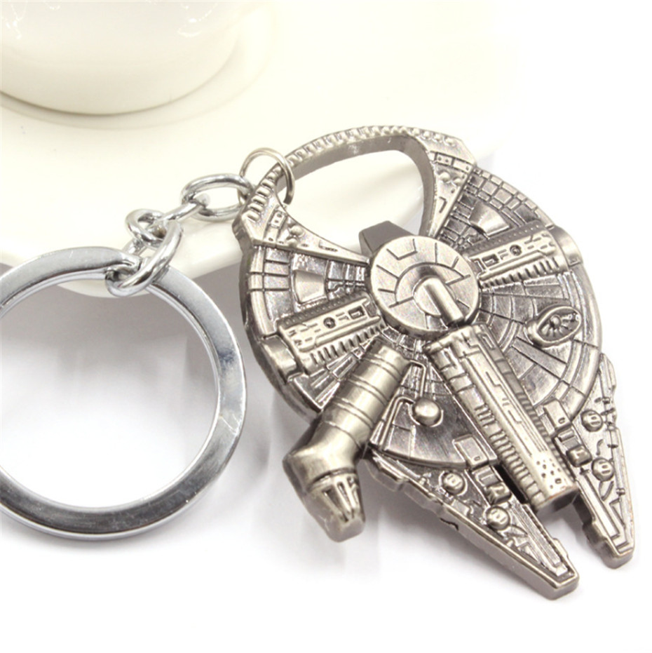 Multi-use Star Wars Metal Bottle Opener, Stainless Steel Keychain, Beer Openner, Star Wars Keychain(China (Mainland))