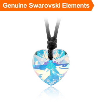 Top quality! heart crystal pendant  made with Swarovski Elements