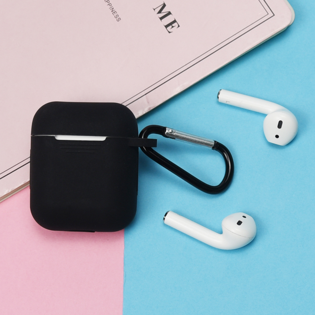 Soft Silicone Skin Case for Apple Airpods Charging Case Protective Cover Air pods Sleeve pouch ShockProof Multi Color