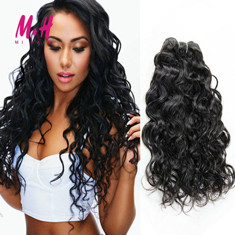 Brazilian Virgin Hair Natural Wave 4 Bundles Mink Brazilian Hair Weave Bundles Soft Brazilian Curly Weave Human Hair Extensions<br><br>Aliexpress
