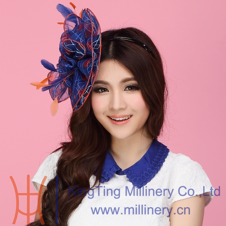 Free Shipping Fashion New Women Fascinator Hat Hair font b Accessories b font Wedding Bridal font