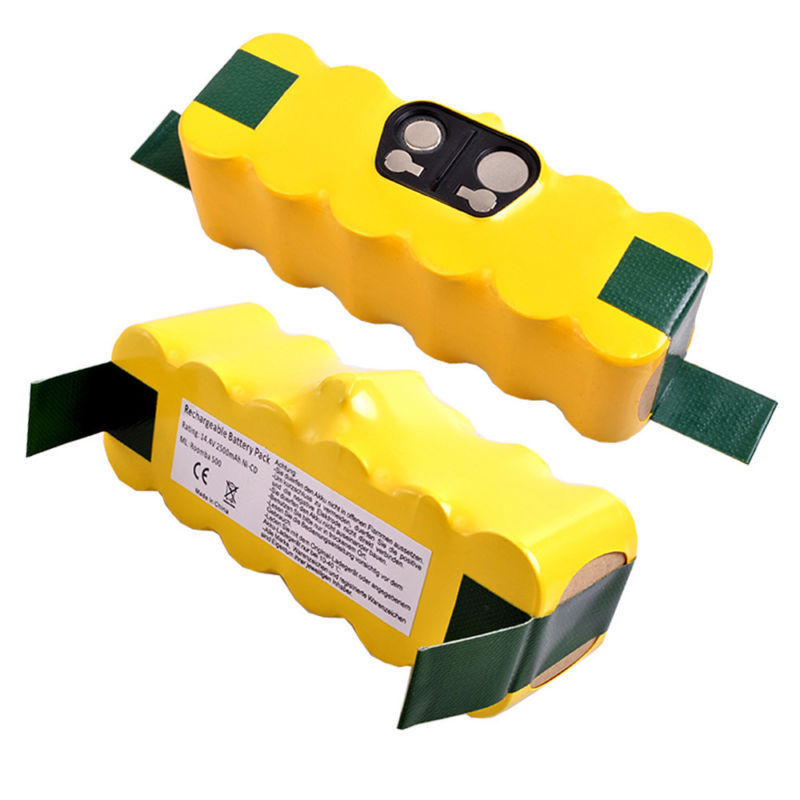 New 14.4V 2500mAh APS Vacuum Battery for iRobot Roomba 500 532 540 562 610 R3(China (Mainland))