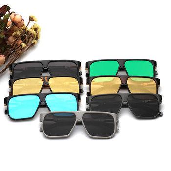 Okulary przeciwsłoneczne stylowe prostokątne vintage różne kolory
