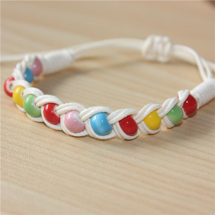 Popular Value Origination of ceramics, hand woven bracelet jewelry wholesale original porcelain produced one meter(China (Mainland))