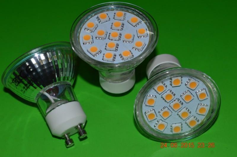 Wholesale 6pcs/Lot 3W AC230V GU10 Lamps LED Spotlights Led Spotlight AC150-240V Warm White Glass Ceramics CE&RoHS Free Shipping(China (Mainland))