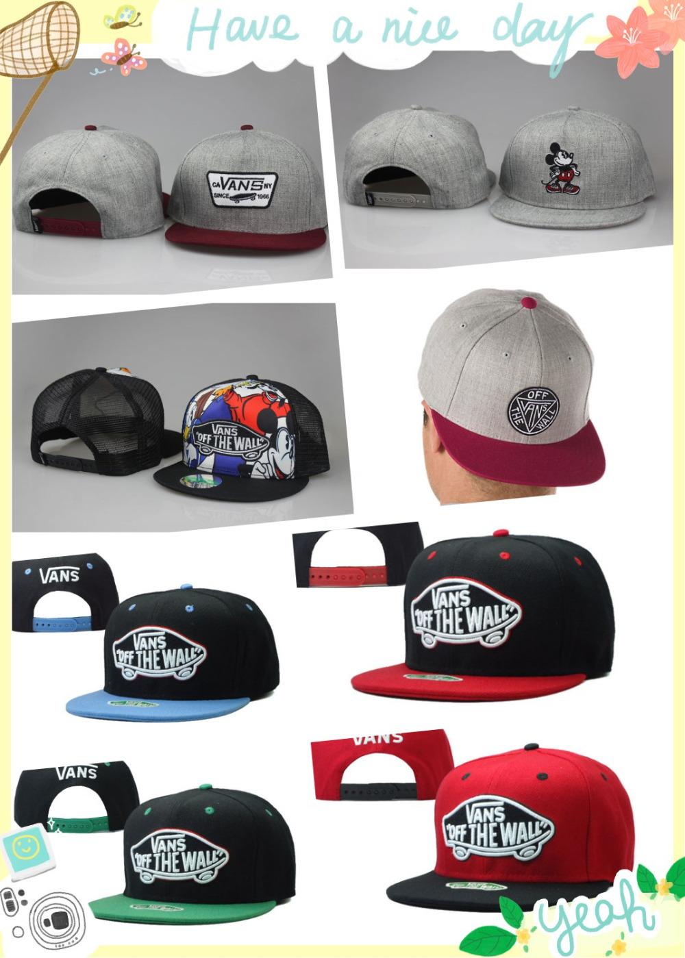 Gorras Vanses снэпбэк шляпа бейсбол хип-хоп спорт шапки для мужчины женщины регулируемый