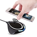 Wireless Charger Stand Qi Wireless Charging Pad Station Mat for Samsung Galaxy S7 S6 Edge Note