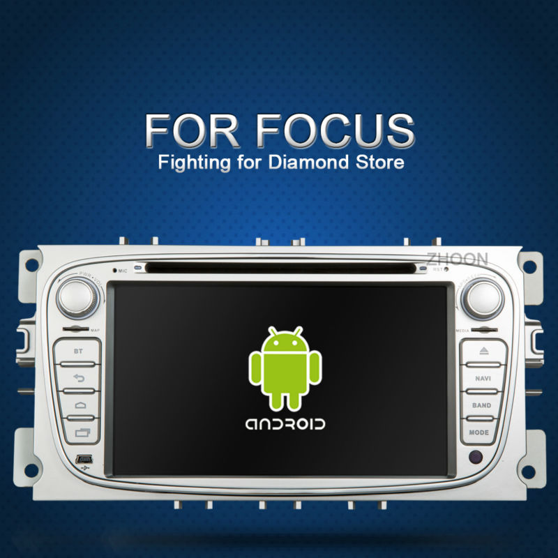 Black/Siliver Two Din 7 Inch Car DVD Player For FORD/Momdeo/S-MAX/Connect/FOCUS 2 2008-2011 With 3G wifi TPMS(China (Mainland))