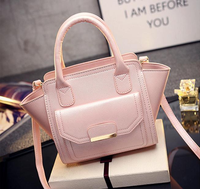 Fashion Women Handbags Tote Shoulder Bags Trapeze Smiley Crossbody Bags Designer Handbags Pu Leather Ladies vogue Bags Bolsas