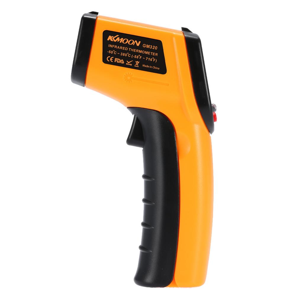 GM320 Non-Contact 12:1 Digital Infrared IR Thermometer Laser Temperature Gun Tester estacion meteorologica termometro digital(China (Mainland))