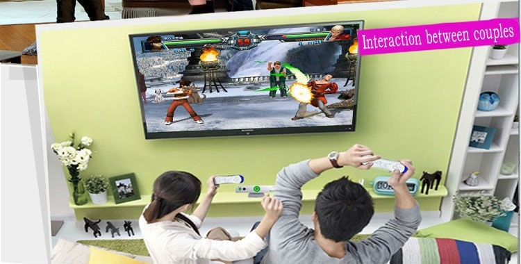 Free shipping 222 body motion games wireless interactive TV video games player console 32bit(China (Mainland))
