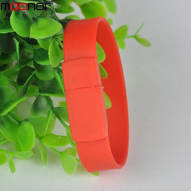 100% real capacity Silicone Bracelet Wrist Band 4GB/8GB/16GB/32GB USB 2.0 Flash Drive Pen Drive Stick U Disk Pendrives X50DA1318(China (Mainland))