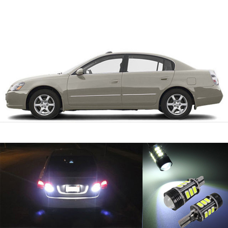 2pcs Car W16W T15 912 High Power OBC Canbus Error Free Led SMD Backup Parking Reverse Lights Bulb For 2002 - 2006 Nissan Altima(China (Mainland))