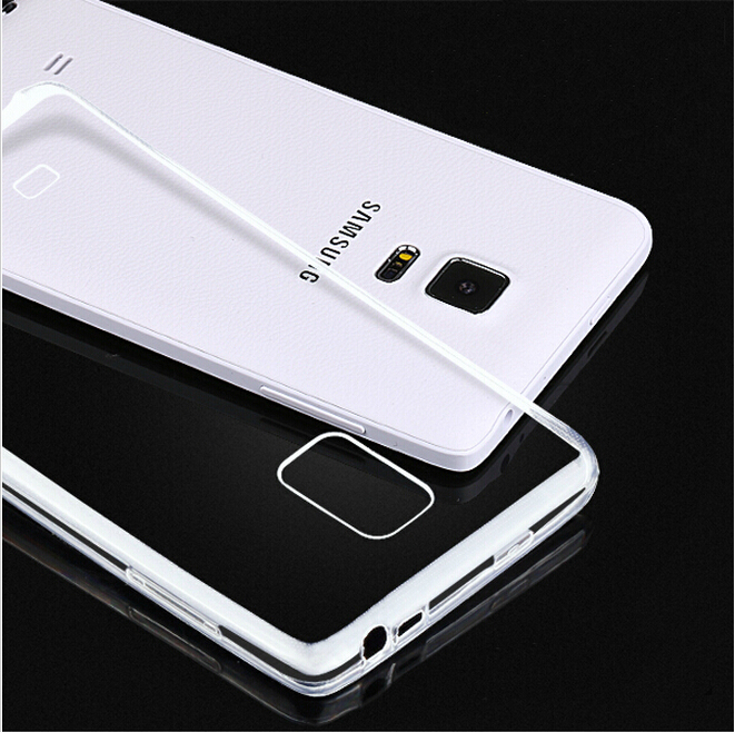 S5 Mobile Phone Cases 0.3MM Super Slim Soft TPU Silicon Clear Case For Samsung Galaxy S5 I9600 SV Crystal Transparent Cover Capa(China (Mainland))