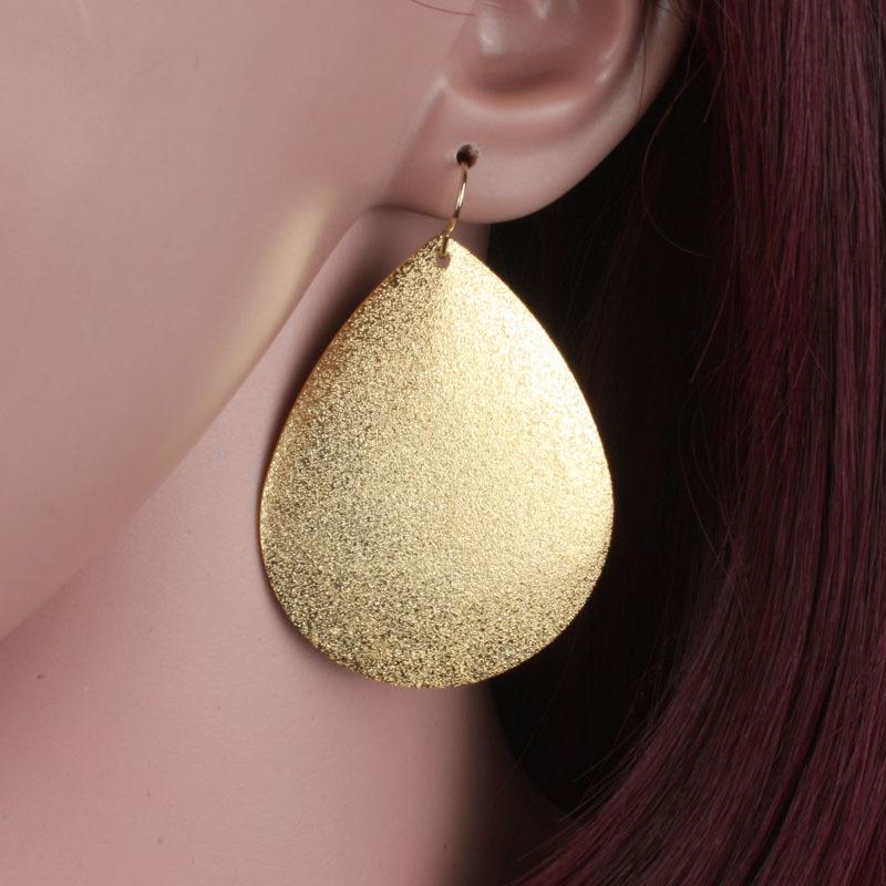 big drop earrings fashion women gold plate handmade hanging dangle earrings pendientes brincos summer style jewelry ER1170(China (Mainland))