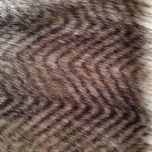 10yards/lot free shipping Coffee peacock feathers / clothing fabric / high quality faux peacock fur / low price Artificial Fur(China (Mainland))