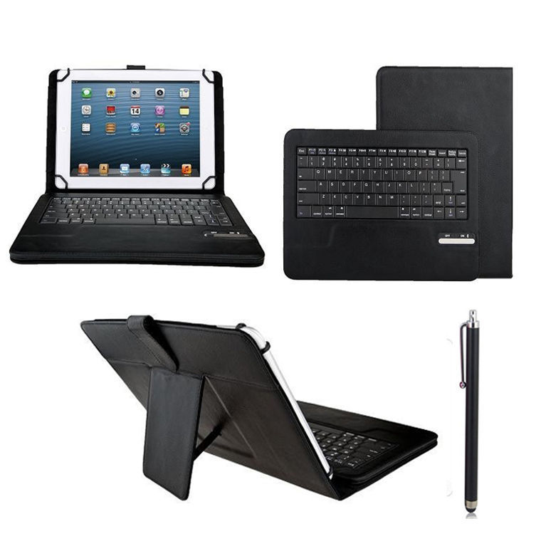 Removable Wireless Bluetooth Keyboard Leather Stand Case For Samsung Galaxy Tab 2 10.1 P5100 P5110 P5113 9 -10 inch Tablet<br><br>Aliexpress