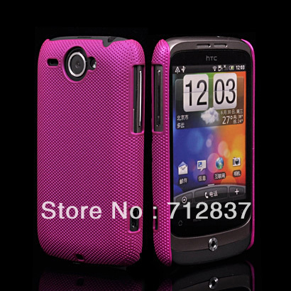 Wholesale or Retail NEW FASHION PLASTIC NET HARD DREAM MESH HOLES SKIN CASE PROTECTOR GUARD COVER FOR HTC Wildfire G8