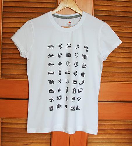 Icon speak travel t shirt new men t-shirt tees 2016 summer short sleeve indicative mark printed abroad traveller t-shirt top(China (Mainland))