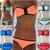 AliExpress |Sl 5 colores Zipper Push Up sujetador de baño Bikini Set Beachwear del traje de baño H2301
