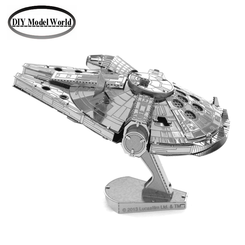 Гаджет  Star war millennium falcon model hot selling 3D DIY Metal building model for adult and kids/ educational diy toys Jigsaw Puzzle None Игрушки и Хобби