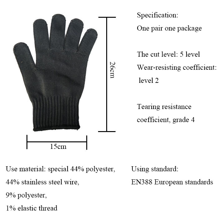 Self Defense Supplies Girl Defense Personal Women Tactical Working Protective Gloves Anti Abrasion Cut Resistant Gloves