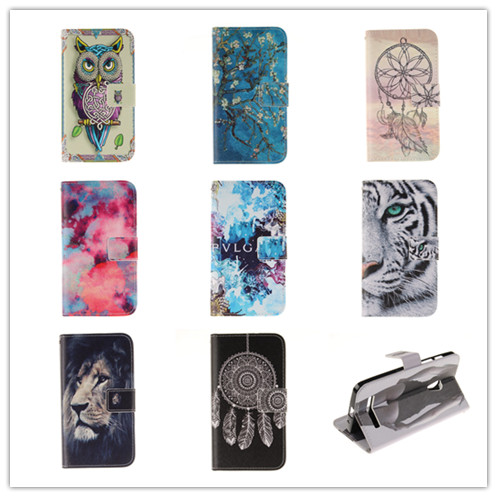ASUS Zenfone 5 A502CG Case Luxury Fashion Pattern Flip Leather Zenfoned Cover Card Holder Phone Fundas Shell - APbest Electronic Store store