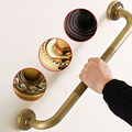 Solid Brass Grab Bar Home Use Tub Bathroom Shower Children and Senior Citizens Safety Handrail