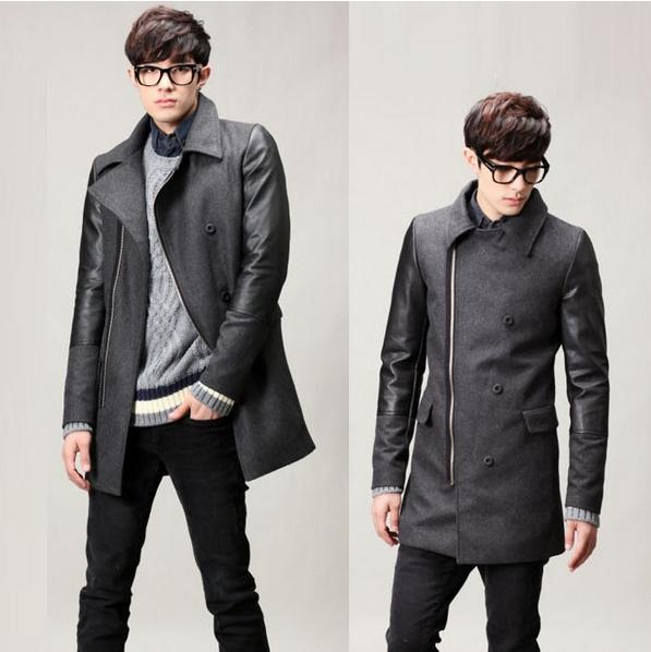 buy coat abrigos hombre jacket casaco masculino mens pea wool manteau homme fashion man winter. Black Bedroom Furniture Sets. Home Design Ideas