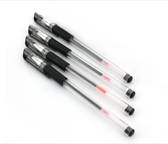 Wholesale 0.5mm Black Gel Ink Pens for Writing 12pcs/lot fone de ouvido material escolar<br><br>Aliexpress