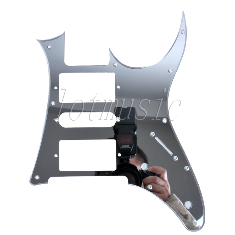 Mirror Surface Electric Guitar Pickguard HSH For Ibanez RG250 style replacement(China (Mainland))