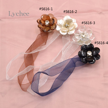 1 Piece Flower Shape Curtains Tieback Magnet Curtains Buckle Curtain Accessories(China (Mainland))
