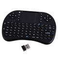Russain Version 2 4Ghz Wireless Fly Air Mouse Keyboard UK Layout Touchpad Keyboard For PC Andriod