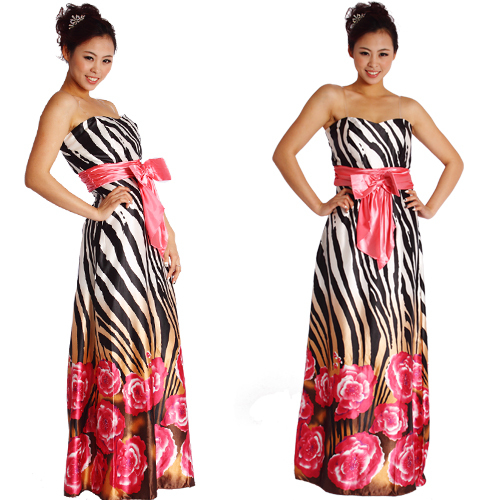 Zebra Bridesmaid Dresses Shop 4