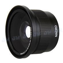 0.35x Super Fisheye Wide Angle Macro Lens for 58 MM Canon EOS 700D 650D 600D 550D 100D 1100D 1200D Rebel T5i T4i T3i With18-55mm(China (Mainland))