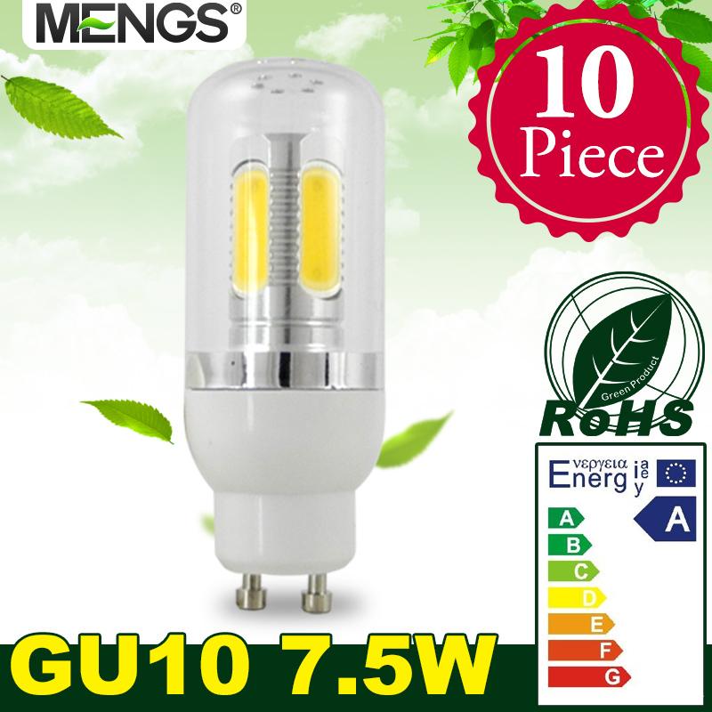 10Pcs per pack GU10 7.5W LED Corn Light 5 COB LEDs LED Lamp Bulb in Warm White/Cool White Energy-saving Lamp<br><br>Aliexpress