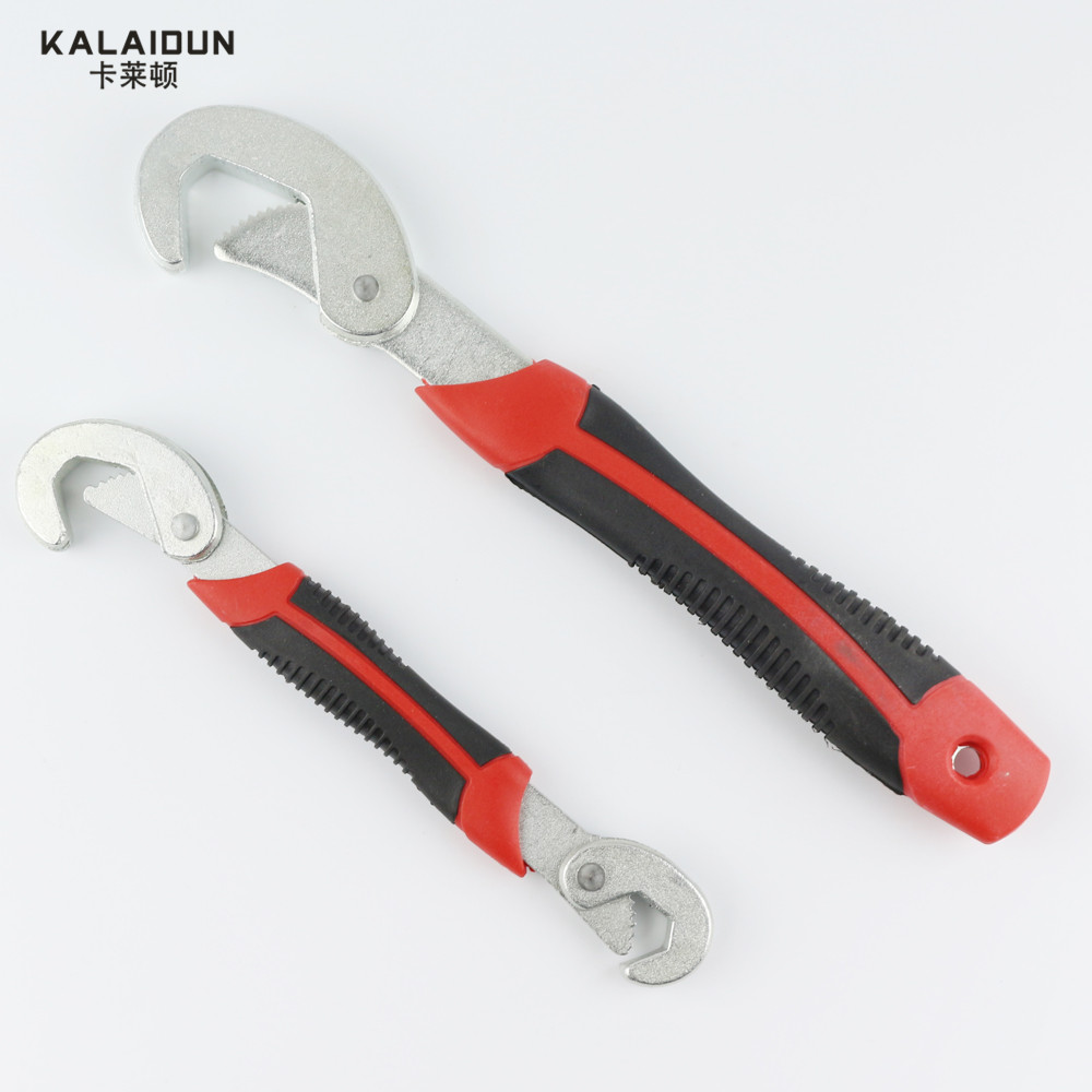 2016 New High Quality 2pcs Adjustable Wrench Allen Wrench Adjustable Technology Practical Size Number Optional ratchet wrench(China (Mainland))