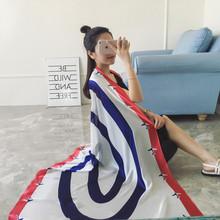 Bufandas Mujer 2016 NEW Designer Fashion Long Soft Imitation Silk Scarves For Women Summer Head Cover Up Wrap Shawl Plane Print(China (Mainland))