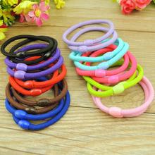 Buy TS 20 Pcs New Korean Fashion Women Hair Accessories Cute Candy color Elastic Hair Bands Girl Hairband Hair Rope Gum Rubber Band for $1.58 in AliExpress store